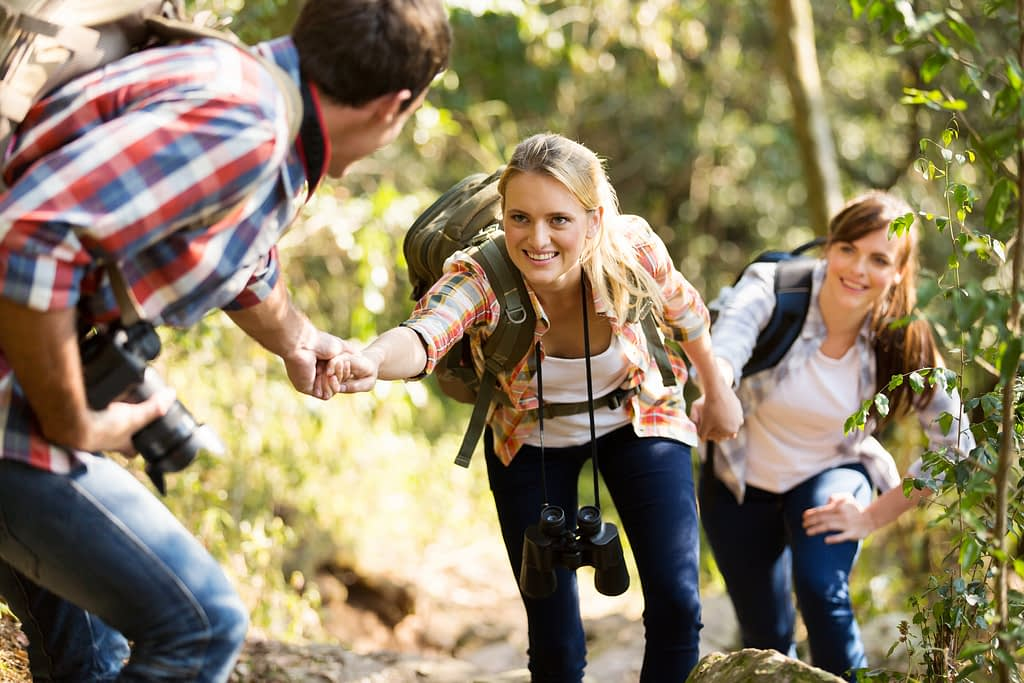 Having friends with you will make your hike safer and funnier