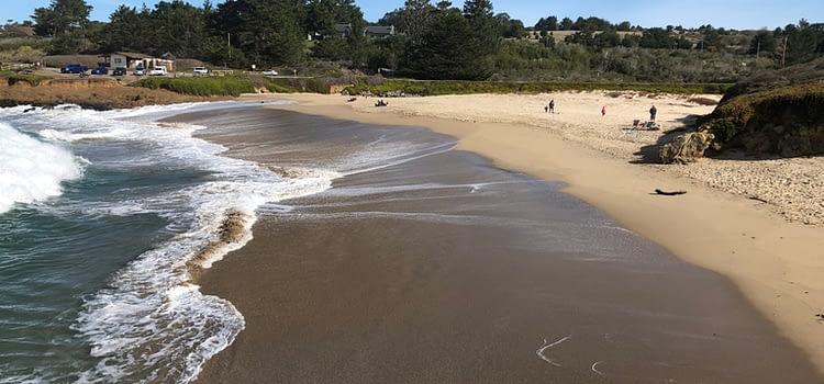 Bean Hollow State Beach: Explore Pebble beach