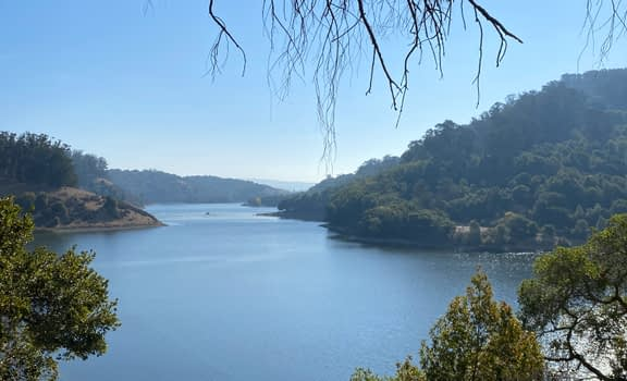 A nice outing in the East Bay around Lake Chabot