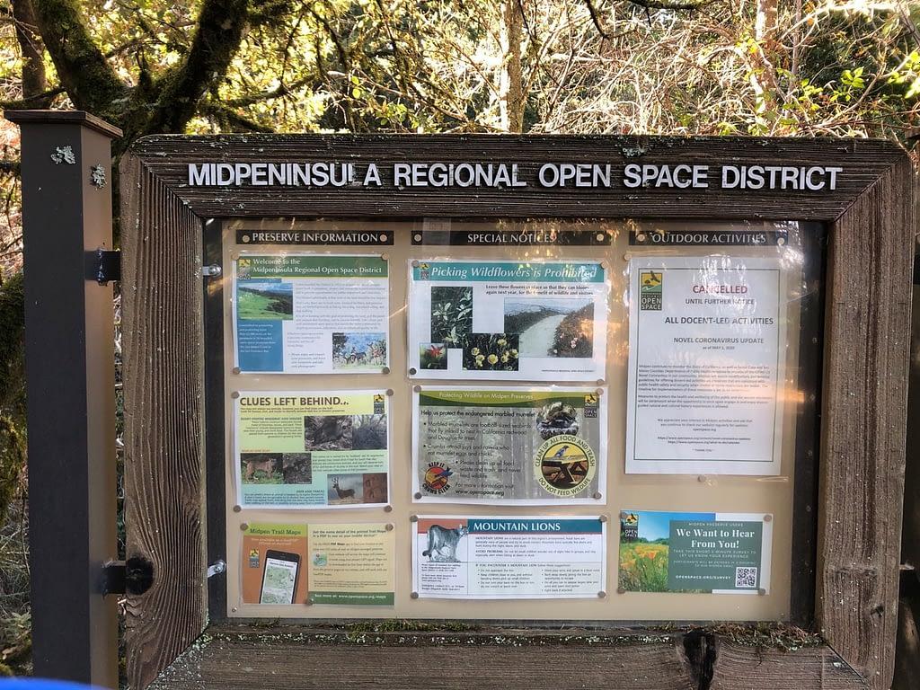 El corte de Madera parc entrance information