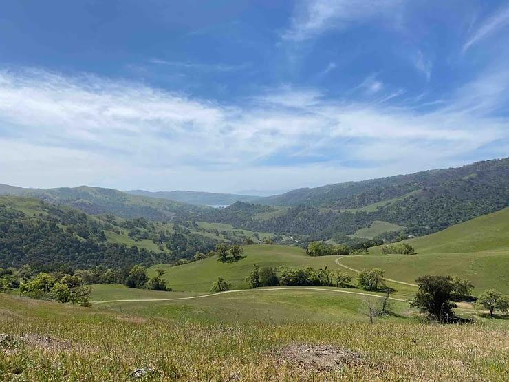 Great views of Sunol Regional Wilderness